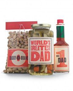 Regálale a papá sus snacks favoritos  #DIY #Father'sDay
