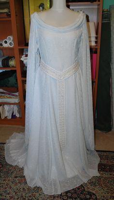 Starlight Masquerade - Galadriel Gown: Done!