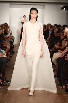 ZAC POSEN  19 New York Fashion Week Bridal Looks for 2015 http://www.dreamwedding.com/gallery/19-new-york-fashion-week-bridal-looks-for-2015