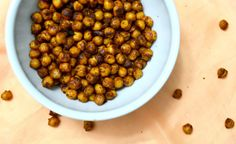 2 Healthy Snack Ideas Roasted Chickpeas