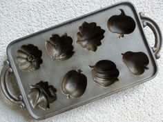 Vintage Cast Iron Muffin Mold Pan  John Wright by meerkatsmanor, $20.00