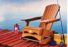 Make a Muskoka rocking chair from composite wood. Give this cottage classic a twist with new materials and a base that rocks. Canadian Home Workshop Magazine offers free plans and illustrated, step-by-step building instructions. Photo: Roger Yip