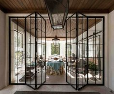 See the light with iron-framed windows This is what I want between kitchen and porch The Best of inerior design in 2017.
