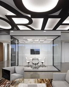 멋지다! 단순함과 현대적인 사무실!