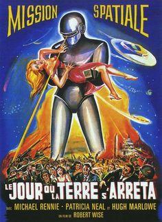 Vintage Sci-Fi Movie Posters