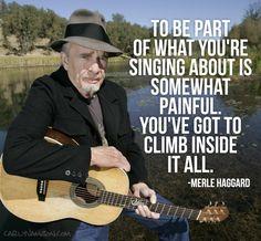 Merle Haggard Quote | #Trenditions
