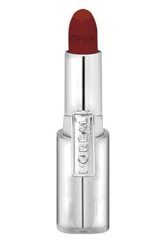 LOreal Infallible Le Rouge in Bold Bordeaux: Blood Red Lipstick for Fair Skin with Cool Undertones and Dark Hair #spring #jewelry #outfits
