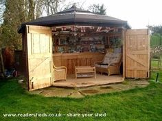 Bar shed ... This is awesome! - Rugged Thug Rugged Thug
