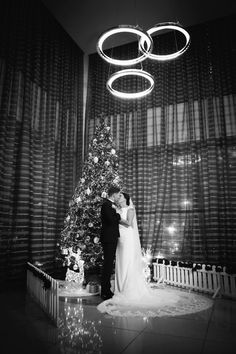 Aoife and Gary sharing an intimate kiss by our Christmas tree. Wedding Photography by Marraige Multimedia Tree Wedding, Christmas Wedding, White Christmas, Christmas Tree, Multimedia, February, Wedding Photos, Kiss, Wedding Photography