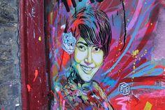 beautiful, creative, Graffiti ,Stencil, Art,Street, Artist, Inspiration