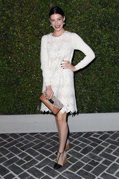 Jessica Pare wearing Chloè @ Chloe Los Angeles Fashion Show & Dinner