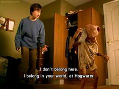 Harry Potter and Dobby