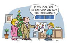 Lustig, lustig, trallahahaha: Weihnachten in Cartoons - Mitfühlen
