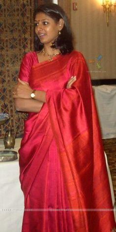 Silk sari. Nandita Das. Saree