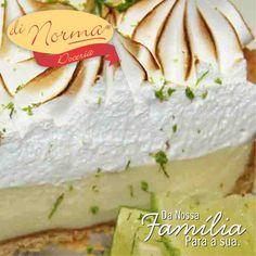 Torta de Limão: Massa sucreé, recheada de puro leite condensado de limão e cobertura de merengue gratinado. #love #DiNorma #cake #curta #siga e #compartilhe