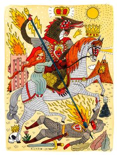 Ricardo Cavolo   Illustrators   Central Illustration Agency