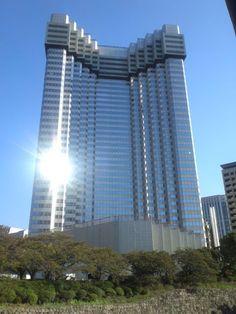 Former Akasaka Prince Hotel (designed by Kenzo Tange) under demolition work - November 2012