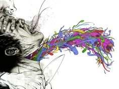 Alex Pardee is my favorite artist.