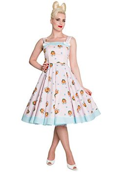 Hell Bunny FOXY Fuchs Cute Bow SWING Träger Dress KLEID Rosa Rockabilly Hell Bunny http://www.amazon.de/dp/B00LFIGRYE/ref=cm_sw_r_pi_dp_TGqAub1GASHTY