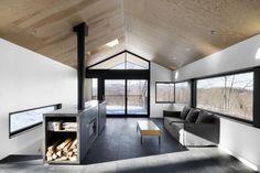 Faux Plafond en chêne clair