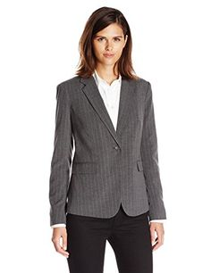 Vince Camuto Women's One Button Blazer, Med Heather Grey, 6 Vince Camuto http://www.amazon.com/dp/B00KAPG8S8/ref=cm_sw_r_pi_dp_TmB8vb188XJ9X