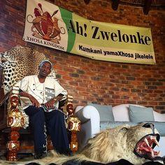 "Xhosa King Demands to be treated like Zulu royalty http://www.timeslive.co.za/sundaytimes/stnews/2015/05/24/Xhosa-king-demands-to-be-treated-like-Zulu-royalty - Pic by @simphiwenkwali ""Xhosa king Mpendulo Sigcawu ( Ah! Zwelonke) seen in his palace in Willowvale, Nqadu in the Eastern Cape."" #TheLightContinent #sundaytimesza #photojournalism #documentary #africa #southafrica #xhosa"