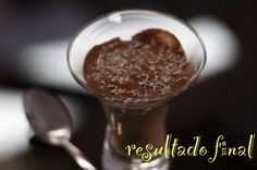 Receita do dia: mousse de chocolate dukan