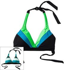 Nike Reversible Halter Bikini Top--what i bought for motivation today! #summer