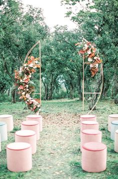 Beautifully Styled Outdoor Wedding Ceremonies   One Fab Day