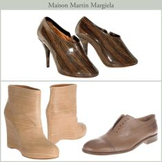 #WOOD #SHOES - #MARTIN MARGIELA #fashion