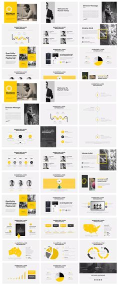 Munch PowerPoint by graphix_shiv on - Munch PowerPoint Presentation Template - Company Profile Presentation, Sales Presentation, Portfolio Presentation, Presentation Design Template, Powerpoint Slide Designs, Powerpoint Design Templates, Sales Deck, Company Profile Template, Presentation Techniques
