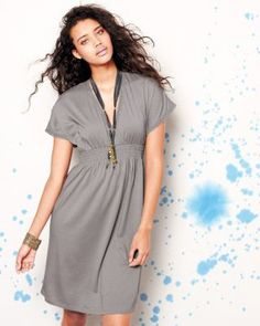 I'll have one of these in black, please!  What a perfect summer dress or even over swim suit!  #garnethill #summerstyle