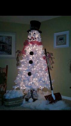 Snow man trew!