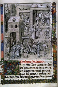 FireStryker Living History Forum : 15th Century Market Stalls