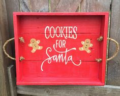 Excited to share this item from my shop: Cookies for Santa Christmas Tray / Wooden Christmas Tray / Cookies for Santa Christmas Sign/ Christmas decor / Wooden Tray / decorative tray Santa Christmas, Christmas Balls, Rustic Christmas, Christmas Wreaths, Christmas Ornaments, Pallet Christmas, Reindeer Ornaments, Christmas Eve Crate, Coastal Christmas