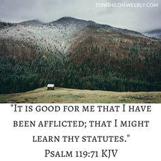 Psalm 119:71 KJV