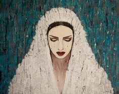 DONNA / 115 x 145 cm / acrylic on canvas / 2014 by Lilja Bloom