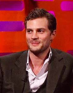 I love him!!!! ♥♥♥♥♥ And he did this expression while talking about Fifty Shades of Grey!!! ♥.♥