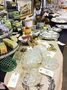 Vintage Flower Frogs #AntiqueMall #AntiqueMallVendor #AntiqueMarketPlace #GreensboroAntiques #Antiques #FlowerFrogs