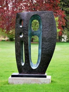 Barbara Hepworth  (British, 1903 - 1975) Sea Form (Atlantic), 1964 Bronze
