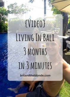 {Video} Living In Bali 2017 – 3 months in 3 minutes Australia Visa, 3 Months, Travel Inspiration, Bali, Things To Do, Around The Worlds, Live, Travel Articles, Inspirational