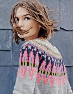 Fair Isle Jumper WV059 Jumpers at Boden