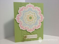 www.stampenvy.ca, stampin up, daydream medallions, teeny tiny wishes