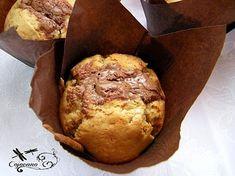 muffins beurre de cacahuète et pralinoise