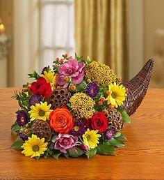 1-800-Flowers - Fresh Flower Cornucopia - Small By 1800Flowers - http://yourflowers.us/1-800-flowers-fresh-flower-cornucopia-small-by-1800flowers/