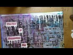 """Art Journal ABC Series-A """"Art Journaling is for Everyone"""""""