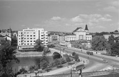 Helsinki, Old Photos, Finland, Memories, Black And White, Retro, Outdoor, Historia, Old Pictures
