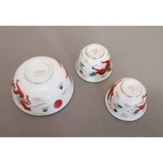 Rice or Soup Bowl with 2 Saki cups. No damage in the Oriental Porcelain category was listed for on 12 Feb at by TomHarvey in Vereeniging Red Dragon, 3 Piece, Oriental, Cups, Porcelain, Rice, Chinese, Vintage, Mugs