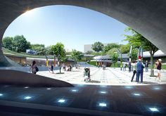 Image 4 of 4 from gallery of Magok Central Plaza Winning Proposal / Wooridongin Architects. Courtesy of Wooridongin Architects