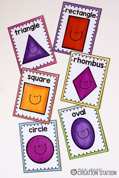 Free Shape Printables For Your Geometry Unit - Mrs. Jones' Creation Station
